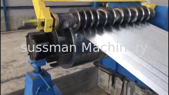 China Fully Automatic Steel Coil Slitting Machine And Cutting To Length Line supplier