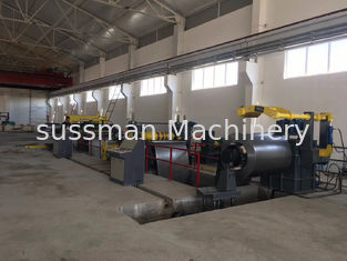 Auto Security Steel Slitting Lines , Coil Slitting Machine With Low Noise