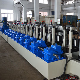 China Metal Rack Roll Forming Machine Shelf Step Beam Making Machine For Storage supplier
