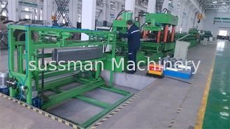 China Steel Silo Omega Post Roll Forming Machine 12m / Min Speed 1.5-6mm Thickness supplier