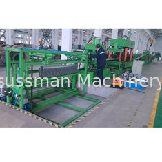 China Omega Silo Post Steel Silo Roll Rorming Machine With 15 Roller Stations supplier