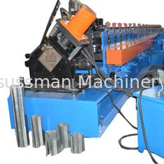 15kw Upright Metal Roll Forming Machine PLC Control Gcr15 Roller