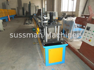 China Gcr15 Steel Stud And Track Roll Forming Machine / Metal Roll Former 5.5KW supplier
