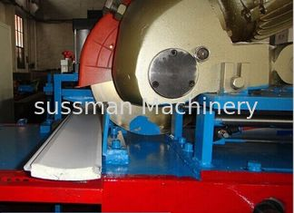 China Cold Roll Forming Machine PU Shutter Door Rolling Form Machine 8 - 15 m / Min supplier