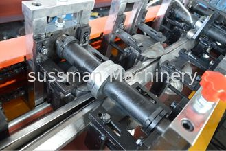 China 0.7-1.2mm Durable Galvanized Steel Cold Roll Forming Machine 12 stations Single Chain supplier