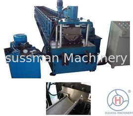 Galvanize Steel Half Round Downspout Roll Forming Machine Automatic Rain Spout Making Machine
