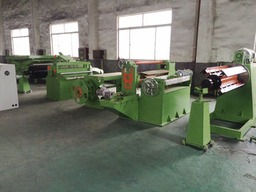 China Steel Coil Slitting Machine , Steel Slitting Lines Min Slitting Width 200mm supplier