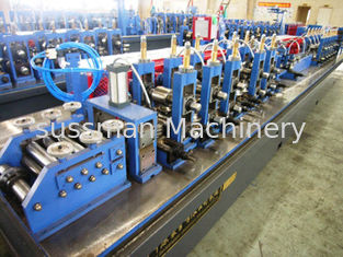 China High Frequency Welding Welded Tube Roll Forming Machine Fly Saw Cutting supplier