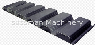 China High Standard Trapezoidal Sheet Floor Deck Roll Forming Machine with 12M Auto Stacker supplier