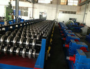 China 55Kw Hydraulic Power 18 Stations Steel Silo Panel Roll Forming Machine Customized PLC Control System factory