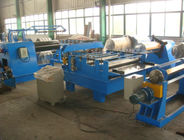 China 11Kw Motor Power  Cut to length Line Steel Slitting Machine High Speed Carbon Steel  Thickness 0.25 - 1.2mm factory