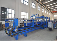 China PLC Touch Screen Control Polyurethane Sandwich Panel Line For Color Steel Sheet factory