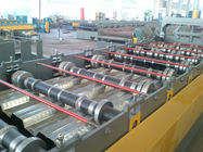Single Chain Driving Floor Deck Roller Making Machine Forming Speed 15m Per Minute
