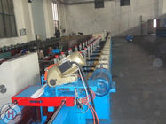 China Color Coated Galvanized Steel Shutter Door Roll Forming Equipment Double - Layer PU factory