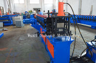 GCr15 CZ Purlin Roll Forming Machine / Metal Roll Forming Equipment  2mm-3mm Thick