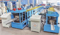China 12-20m/min CZ Purlin Roll Forming Machine 3 Ton 7.5Kw Hydraulic Power company