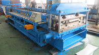 China Galvanized Steel / Blank Steel Door Frame Roll Forming Machine 12 - 15 Meters / Min factory