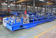 1.5mm - 3.0mm Galvanized Steel C Purlin Forming Machine With Chain Drive