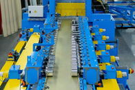 Blue 20 Station Cable Tray Roll Forming Machine 1.8-3.0mm Thickness