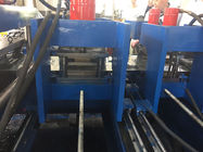 Cold Rolled Steel 11Kw Cable Tray Making Machine Servo Feeding 10 Meters / Min