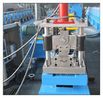 China Galvanized Coil Strip Roll Gutter Making Machine 45# Forged Steel 0.8 - 1.5mm factory