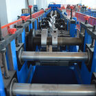China Cold Rolled Lipped CZ Purlin Roll Forming Machine , Galvanized Cold Forming Machine factory