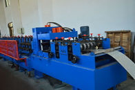 Section Roof CZ Purlin Roll Forming Machine , Ceiling Purlin C Channel Roll Forming Machine