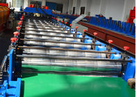 China 18 stations Glazed Tile Roll Forming Machine / Roof Panel Roll Forming Machine 5.5KW factory
