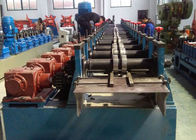 China Perforated Solar Panel Bracket Roll Forming Equipment With Chain Transmission factory