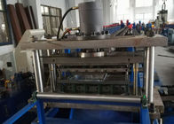 China Hydraulic Cutting Steel Storage Rack Shelf Production Line With Bending factory