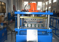China GCr15 Steel Shelving Rack Roll Forming Machine 200-600mm Width Adjustable company