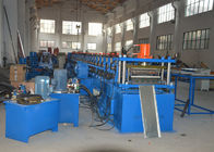 China Hydraulic Bending Storage Rack Shelving Making Machine With Cutting Cr12Mov factory