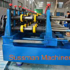 China 100-600mm Width Cable Tray Cold Roll Forming Machine With Punching Press Machine factory