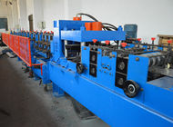 China 380V C Shape Purlin Roll Forming Machine With Automatic Punching Holes factory