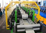 China Hydraulic Cutting Metal Shutter Door Forming Machine 12 Steps 12-15 M / Min Speed factory
