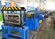China 7.5KW Sussman Shelf Box Roll Forming Equipment 18 Steps 3-15 m / Min Speed factory
