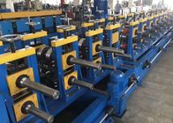 Durable Roll Forming Equipment , Guard Rails Roll Forming Machine 2 Sets Of Punching Dies