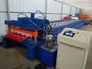 Color Coated Colis Roof Panel Roll Forming Machine , IBR Sheet Roll Forming Machine