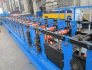 China 10m / Min Speed CZ Purlin Roll Forming Machine With PLC Industrial Computer factory
