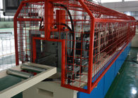 Red Metal Framing Machine For Wall Protection / Drywall Studs Track Machine