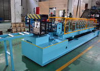 China Mild Steel CZ Purlin Roll Forming Machine , C Lipped Channel Roll Forming Machine factory