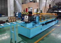 China Post Cutting Post Punching CZ Purlin Roll Forming Machine , C Steel Frame Machine factory