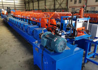 China 22 Rollers Upright Post Roll Forming Machine For Container House Gearbox Transmission factory
