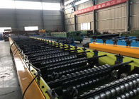 China Steel Sheet Floor Deck Tile Roll Forming Machine / Metal Deck Roll Forming Machine factory