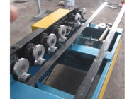 Galvanized PPGI 6 Steps One Side Lock Roof Panel Roll Forming Machine With Chain Driven
