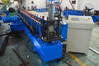 China Gearbox Driven Strut Channel Roll Forming Machine With Servo Feeding Device factory