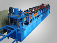 China High Speed  Automatic 20m/min Wall Angle Roll Forming Equipment With Follow Cutting factory