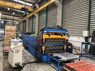 Multiply Double Layer Glazed Tile Roll Forming Machine With 2 Shapes