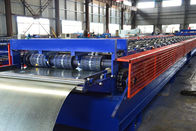 28 Rollers Galvanized Steel Deck Roll Forming Machine For Building Construction