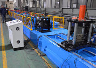 Automatic PLC Control Upright Rack Roll Forming Machine With Hydraulic Decoiler